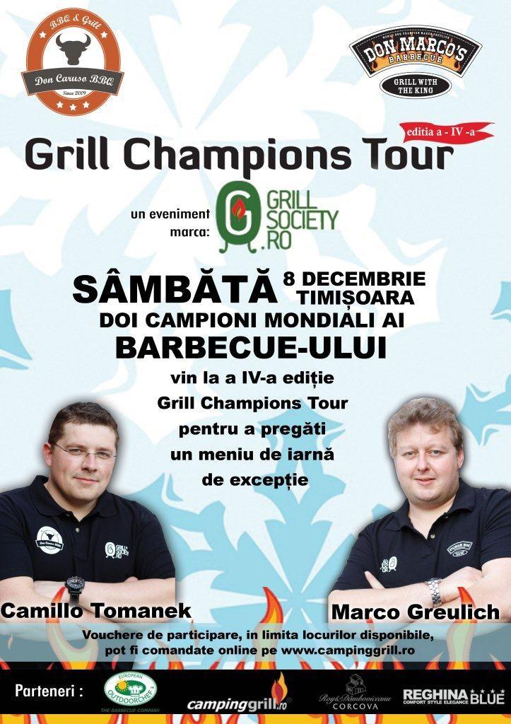 afis eveniment_online_Grill Champions Tour_dec.2012