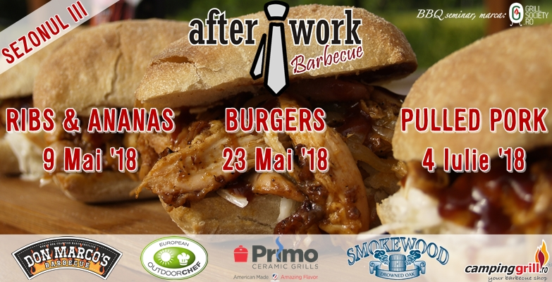 Seminar de gratare After Work Barbecue Sezonul III